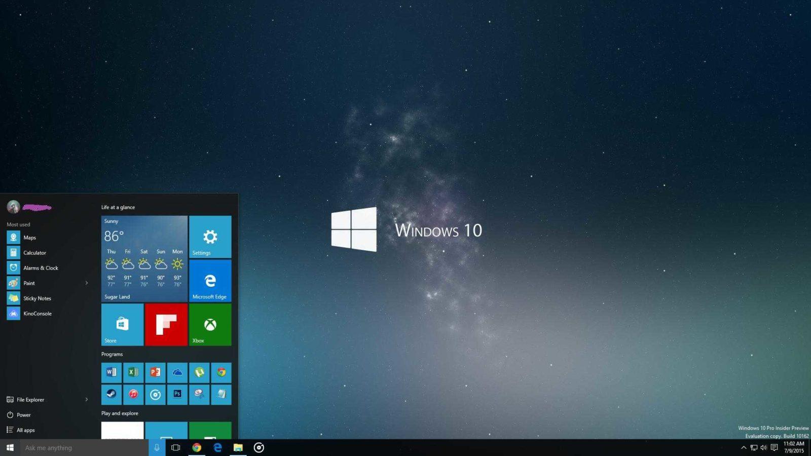 Отзывы о Windows 10