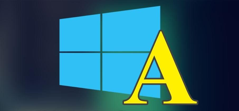 Как в Windows 10 отключить загрузку недоверенных шрифтов