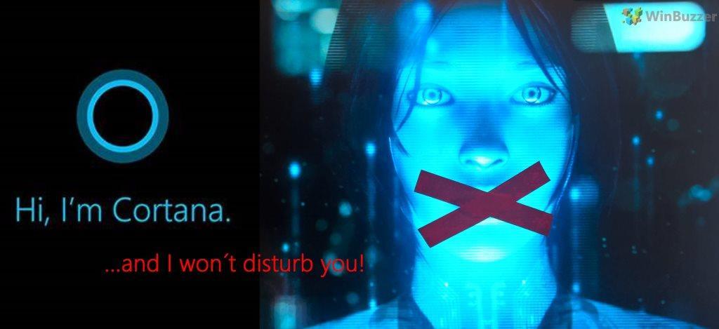 Как в Windows 10 удалить Cortana
