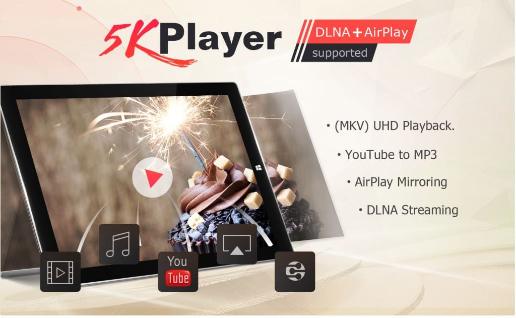5KPlayer для Windows 10