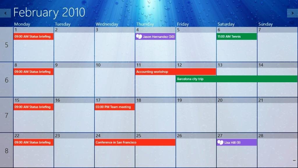 OneCalendar - управление календарями в Windows 10