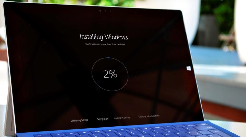 Установка Windows 10 с флешки и обновлением