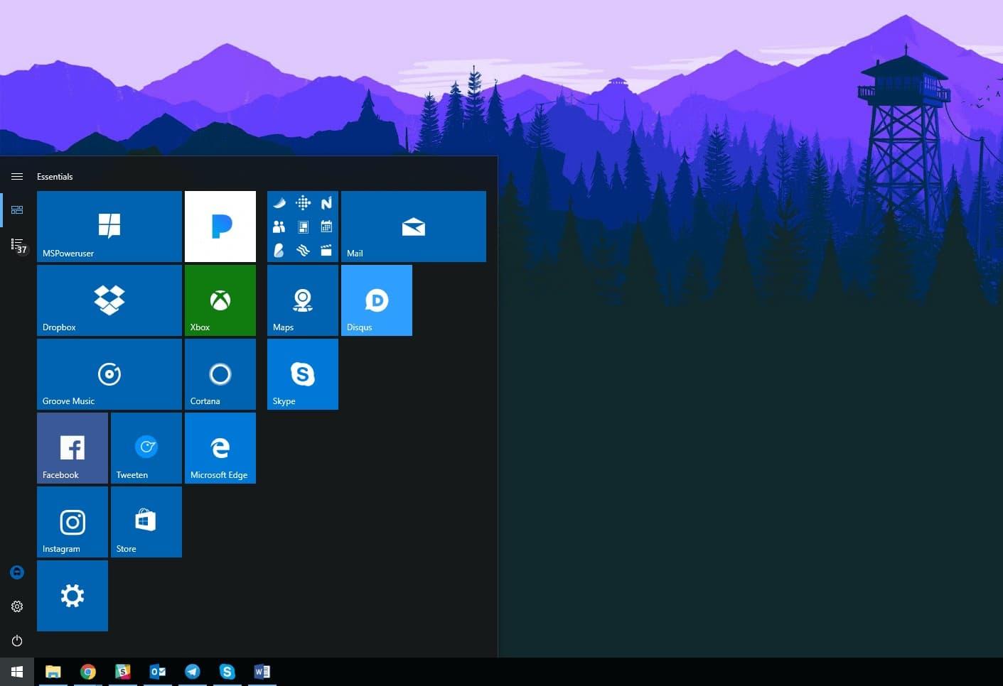 Как сбросить настройки набора быстрых кнопок в Windows 10